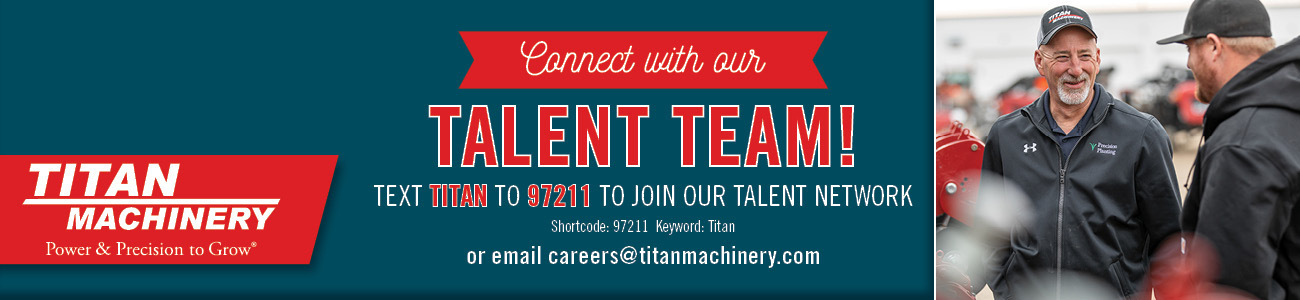 Titan Machinery Careers - Contact Banner