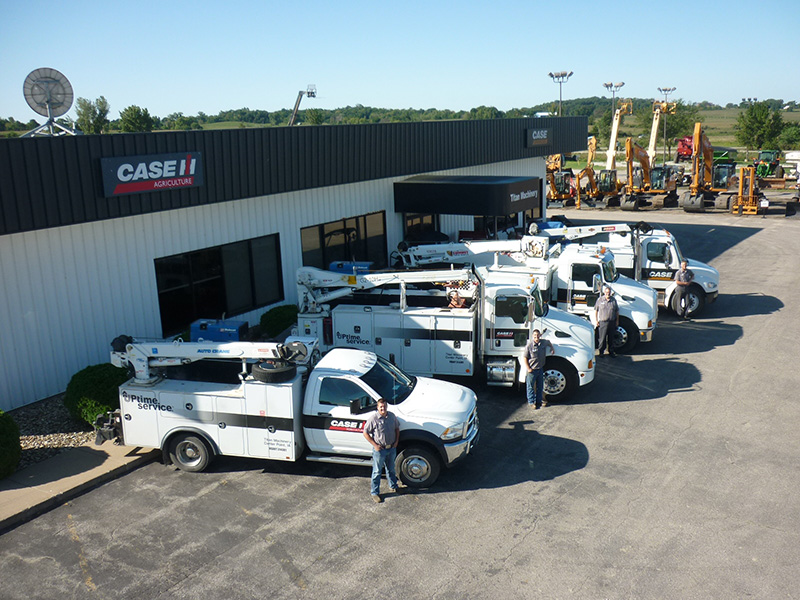 Case IH and Case Construction Dealership in Center Point, IA