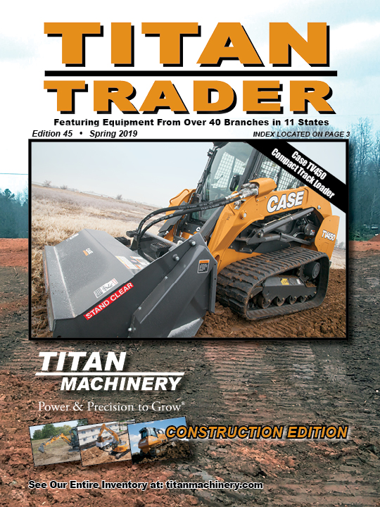 Titan Machinery Construction Equipment Titan Trader 45th Edition