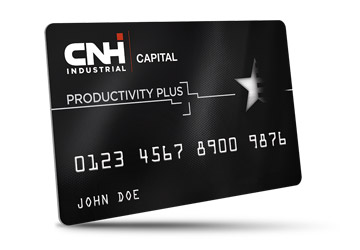 CNH Industrial Capital Productivity Plus Credit Card