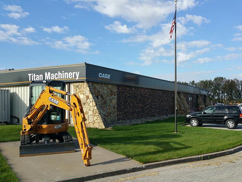 Case Construction Dealership in Davenport, IA - Titan Machinery