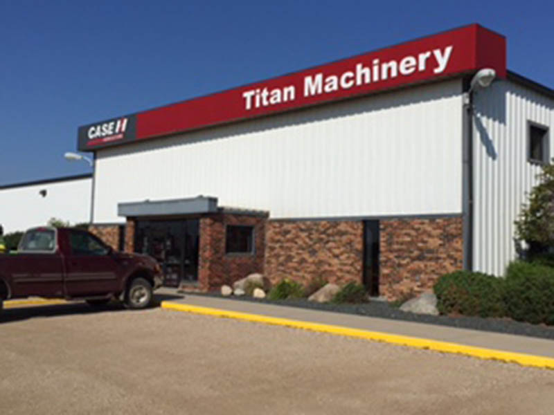 Titan Machinery Dealership in Elbow Lake, MN