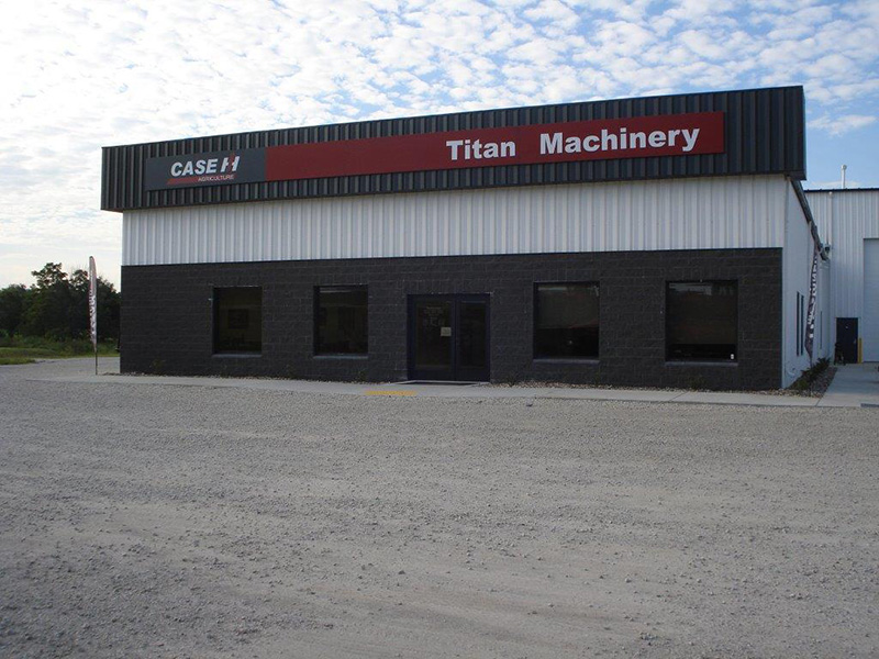 Titan Machinery - Case IH Dealership in Greenfield, IA