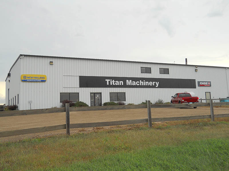 Titan Machinery Dealership in LaMoure, ND - Case IH