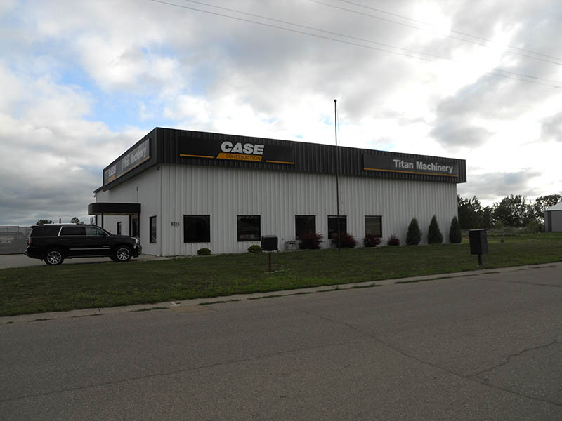 Titan Machinery Dealership in Minot, ND - Case Construction