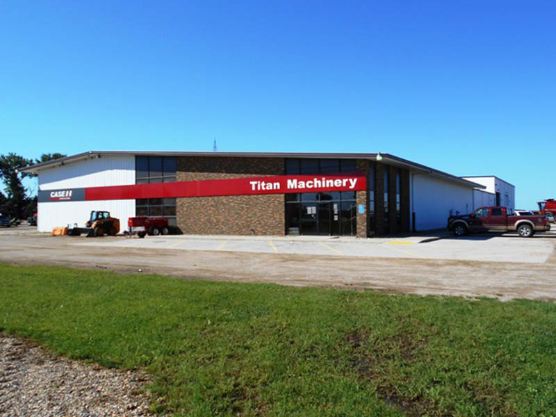 Titan Machinery Dealership in Pipestone, MN