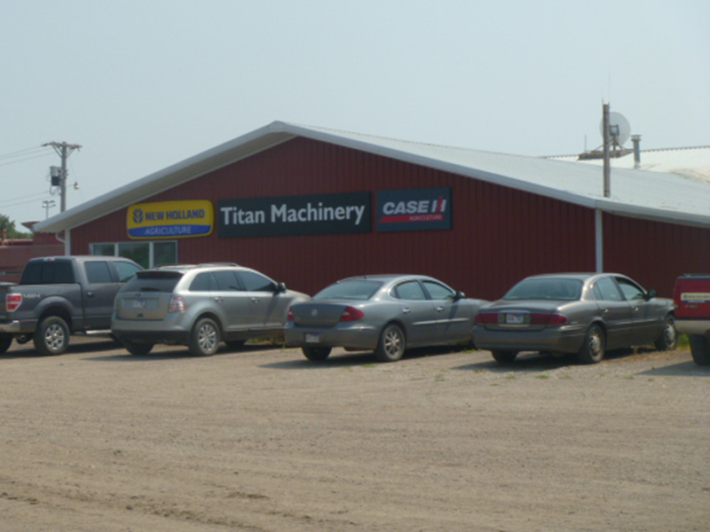 Titan Machinery agriculture dealership in Platte, SD