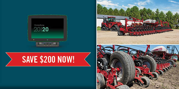 Save up to $200 per row on vDrive®, DeltaForce®, and SpeedTube®!