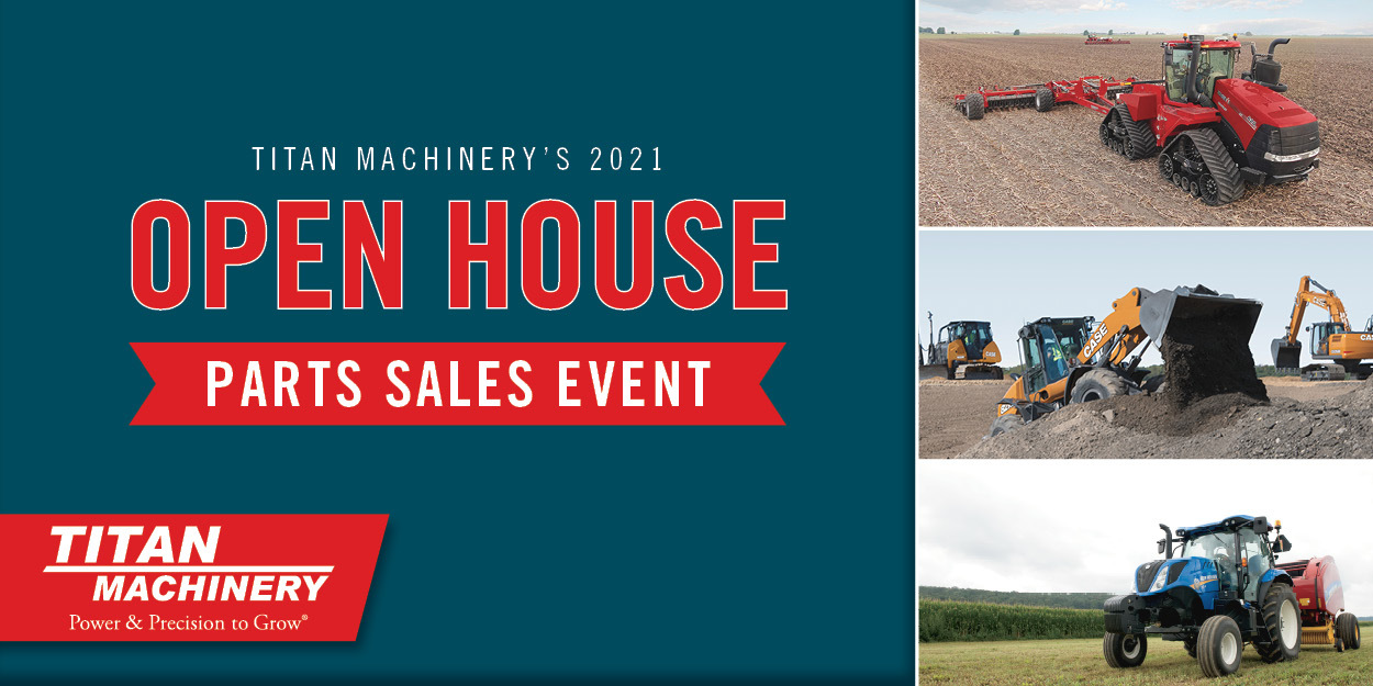 2021 Spring Open House Parts Specials