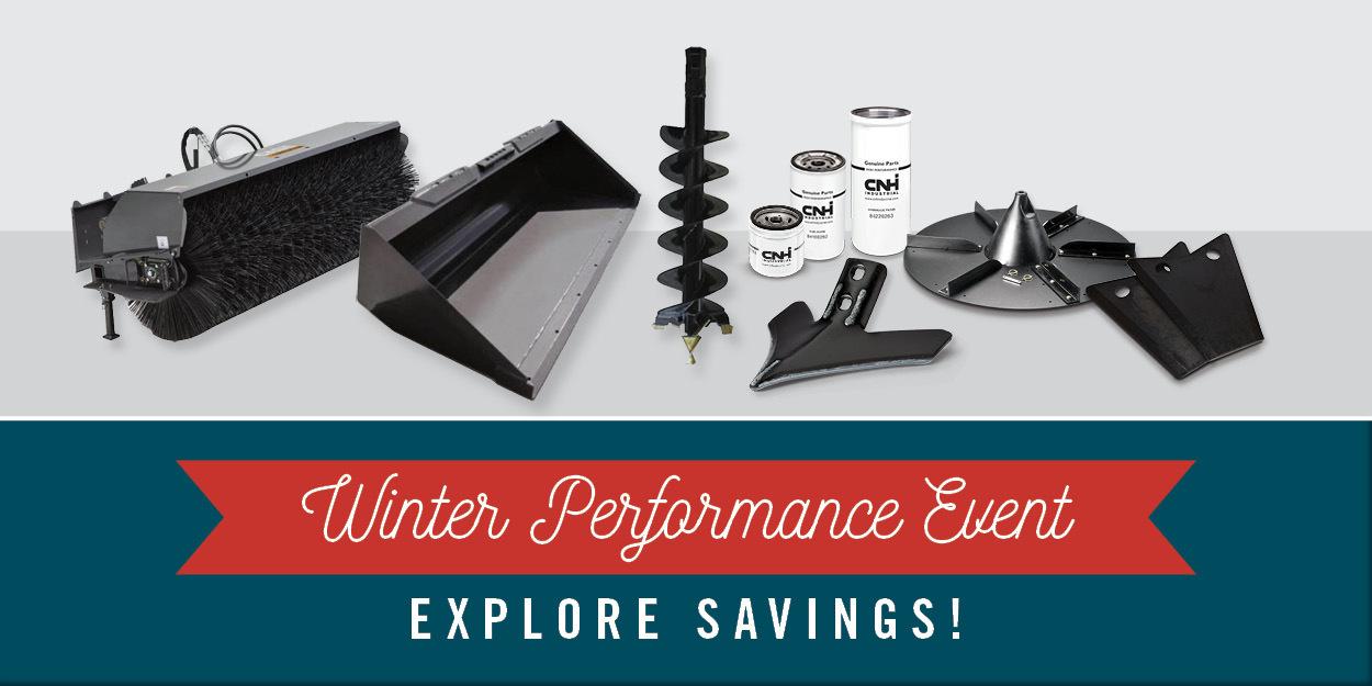 Winter Parts Sales Event