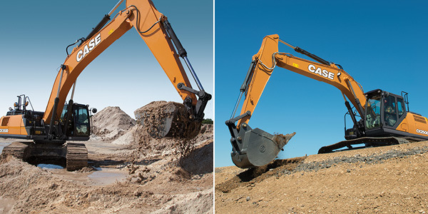LOW LEASE PAYMENTS ON NEW CASE EXCAVATORS