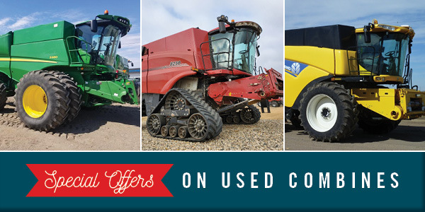 Pre-Harvest Used Combine Sale & Special Financing