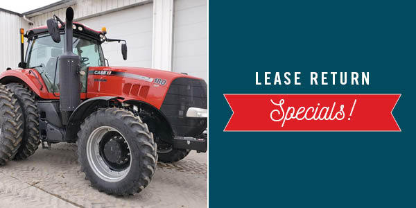 2.75% FOR 60 MONTHS ON LEASE RETURN TRACTORS
