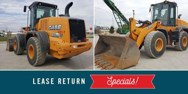0% FOR 48 MONTHS ON LEASE RETURN WHEEL LOADERS