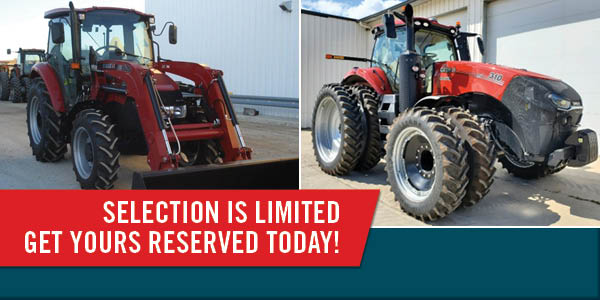 "SAVE THOUSANDS ON LOW-HOUR 2019-20 ""PROGRAM"" TRACTORS AND FARM EQUIPMENT"