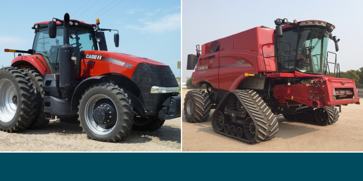 Receive FREE Premier PPP Warranty on Used Case IH Combines and 2WD/4WD Tractors