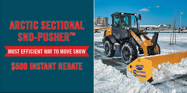 Arctic Sectional Sno-Pusher $500 Instant Rebate