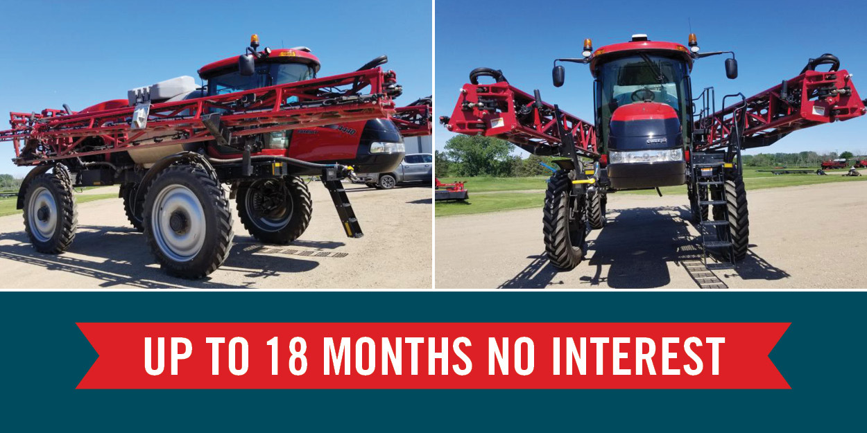 No Interest Finance Offer On Used Self-Propelled Sprayers