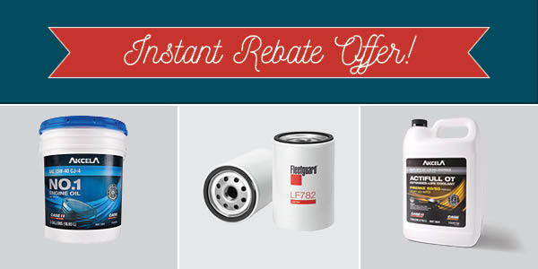 Instant Rebate on Filters, Lube, Coolants | Summer Performance Event