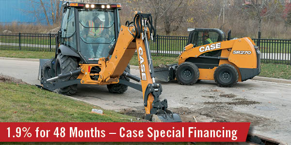 Low Rate Financing on Specially Marked Used Case Inventory