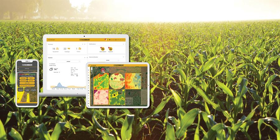Farmers Edge introduces Smart Cab - field technology in your hand