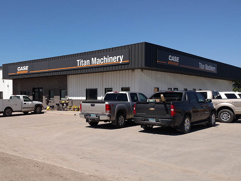 Titan Machinery dealership in Fargo, ND - Case Construction