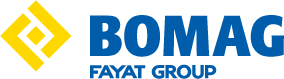 Bomag construction equipment logo