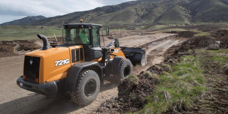 Case Wheel Loader 721G - Road Work