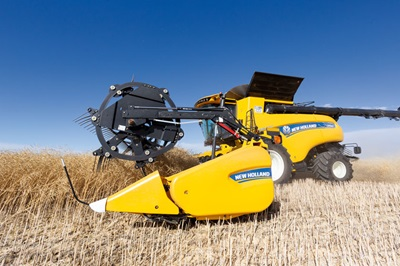 New Holland CR990 Combine and Header